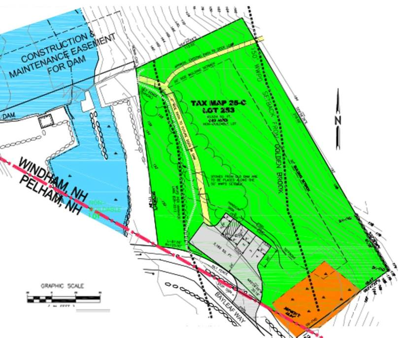 access and parking site plan